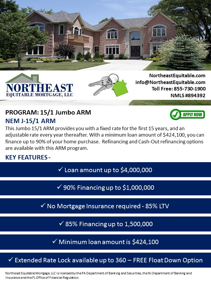 Northeast Equitable Mortgage Llc Online Forms
